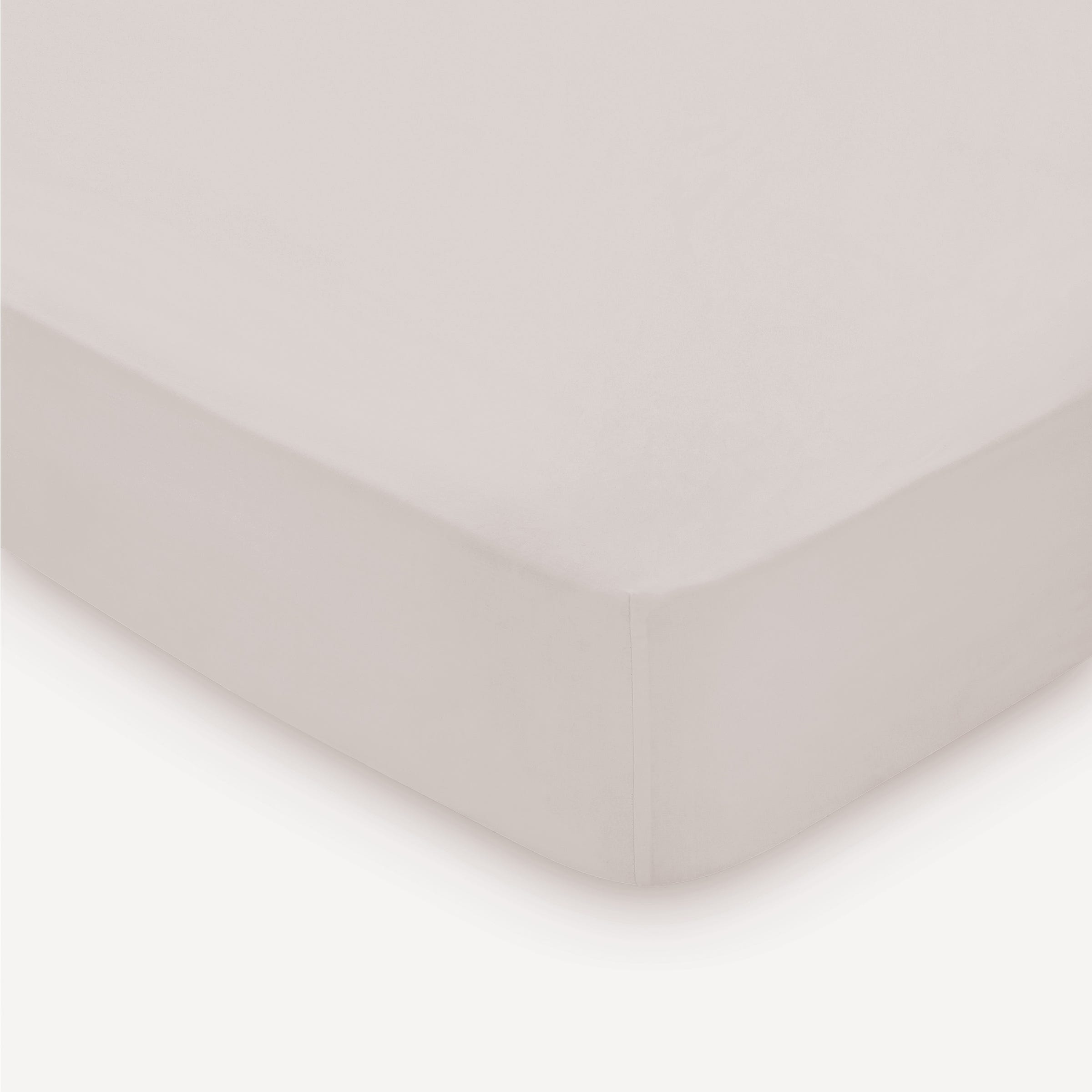 300 Thread Count Super Kingsize Fitted Sheet, Cashmere