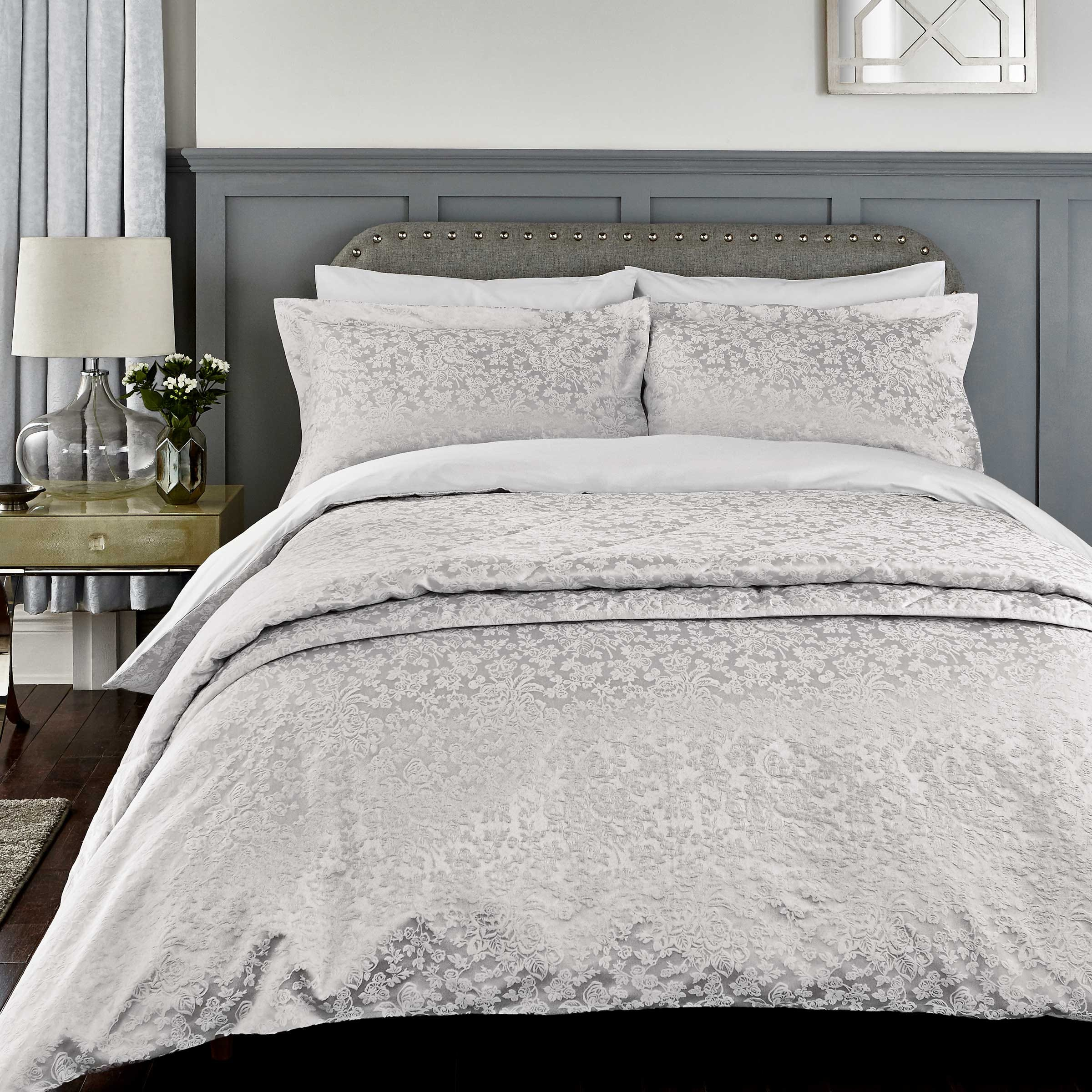 silver duvet cover shop for cheap home textiles and save. Black Bedroom Furniture Sets. Home Design Ideas