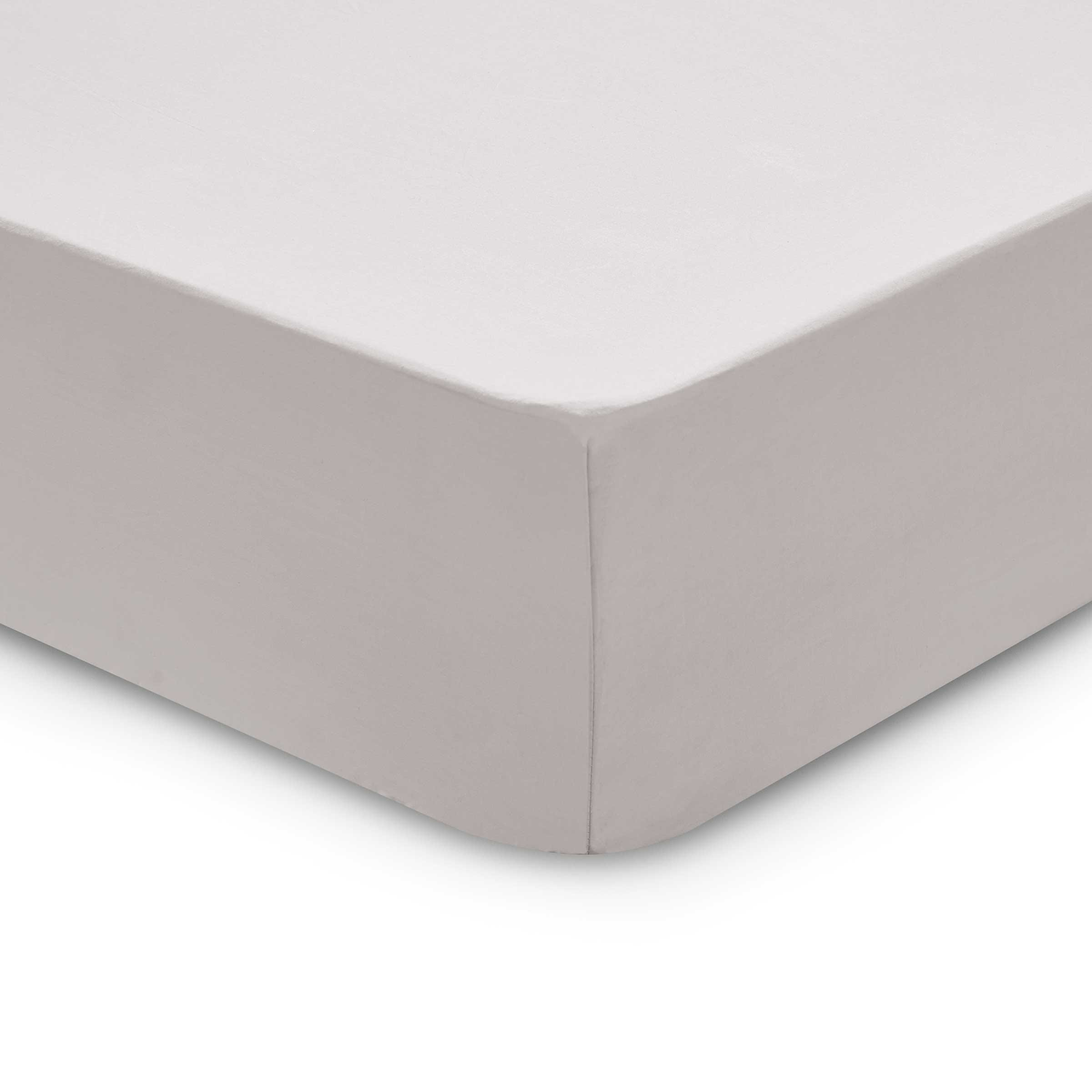 Bedeck 1951 200 Thread Count, Kingsize Fitted Sheet, Silver