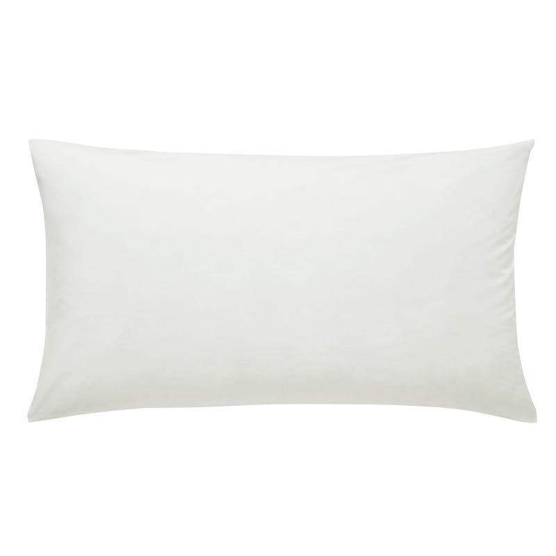 50/50 Percale, Housewife Pillowcase, White