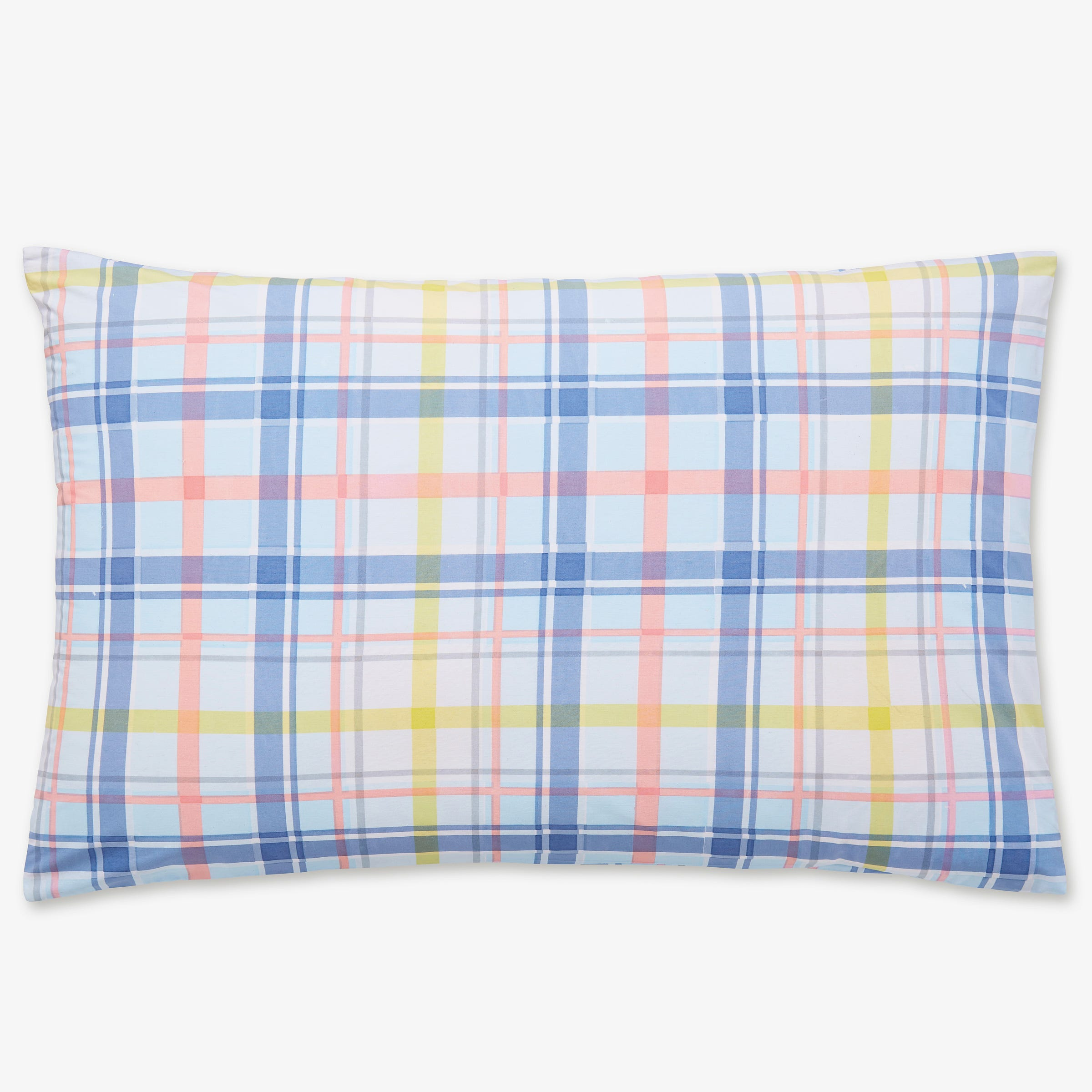 Joules - Whitstable Floral Check Pillowcase