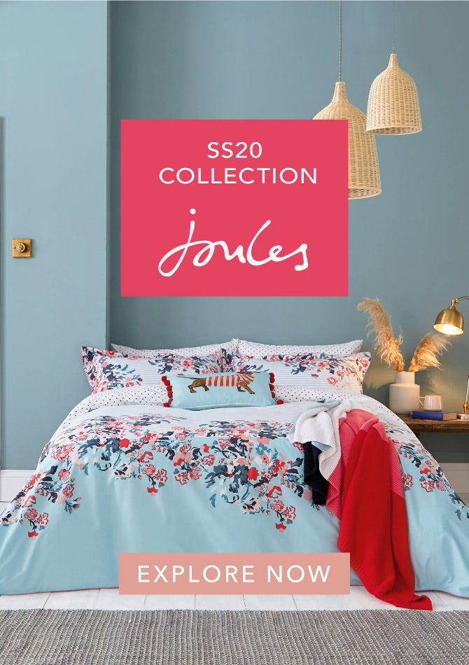 Explore Joules Spring/Summer 2020 Bedding