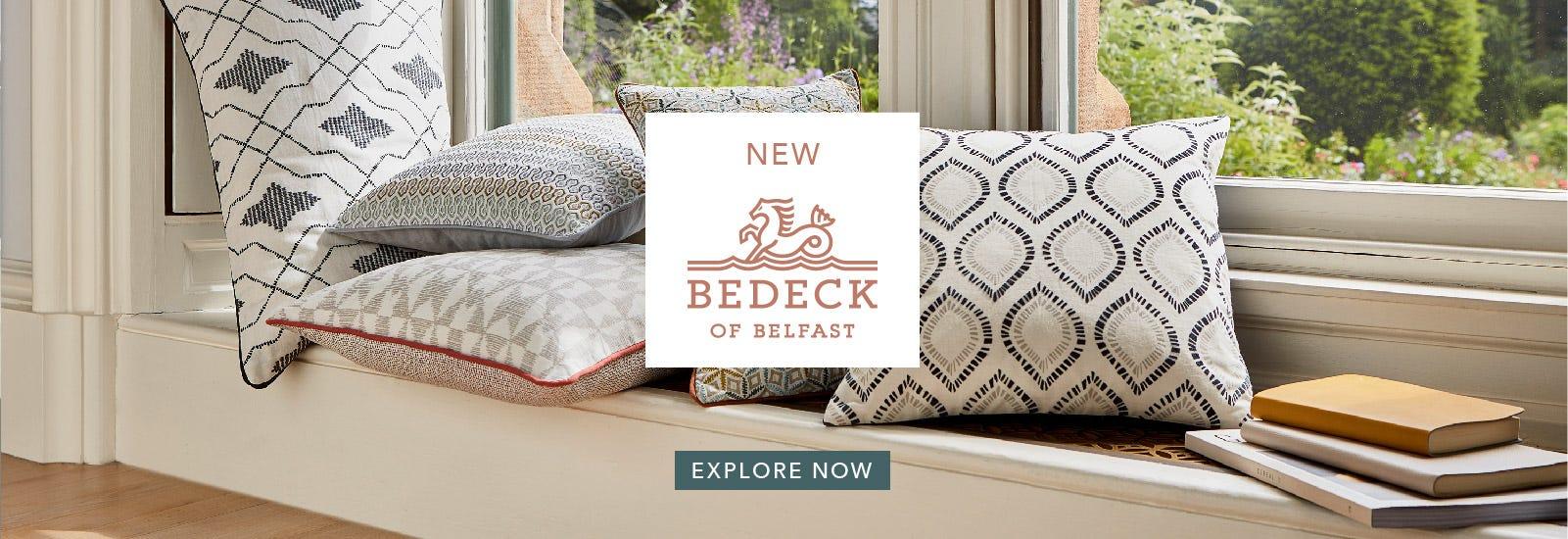 New Bedeck of Belfast Cushions SS20