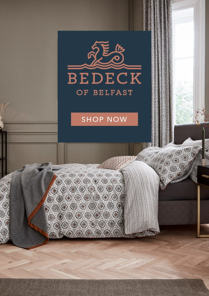 Explore Bedeck of Belfast AW19 Bedding