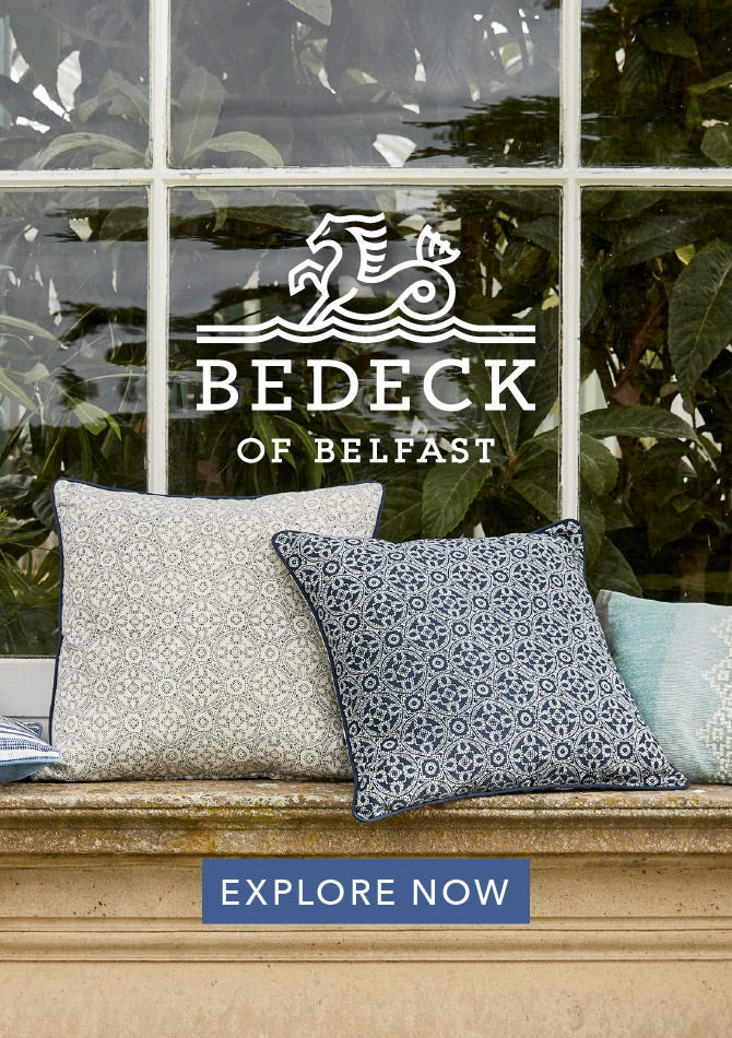 Bedeck of Belfast Cushions