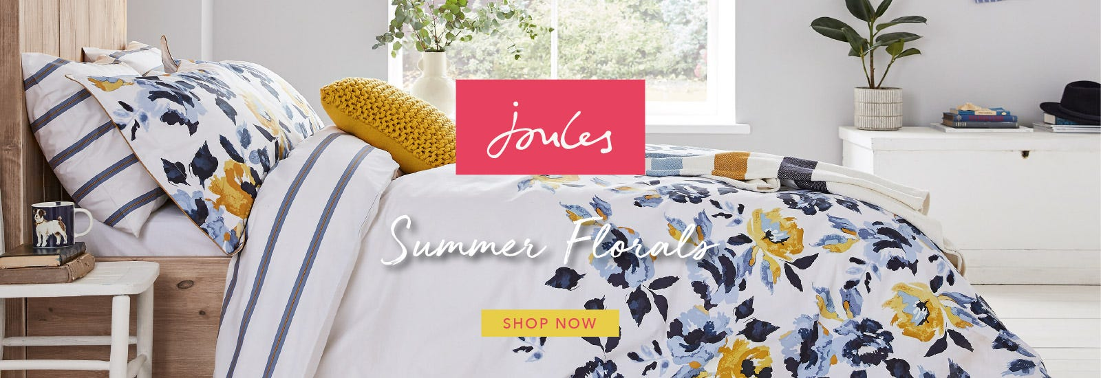 Joules Floral Bedding