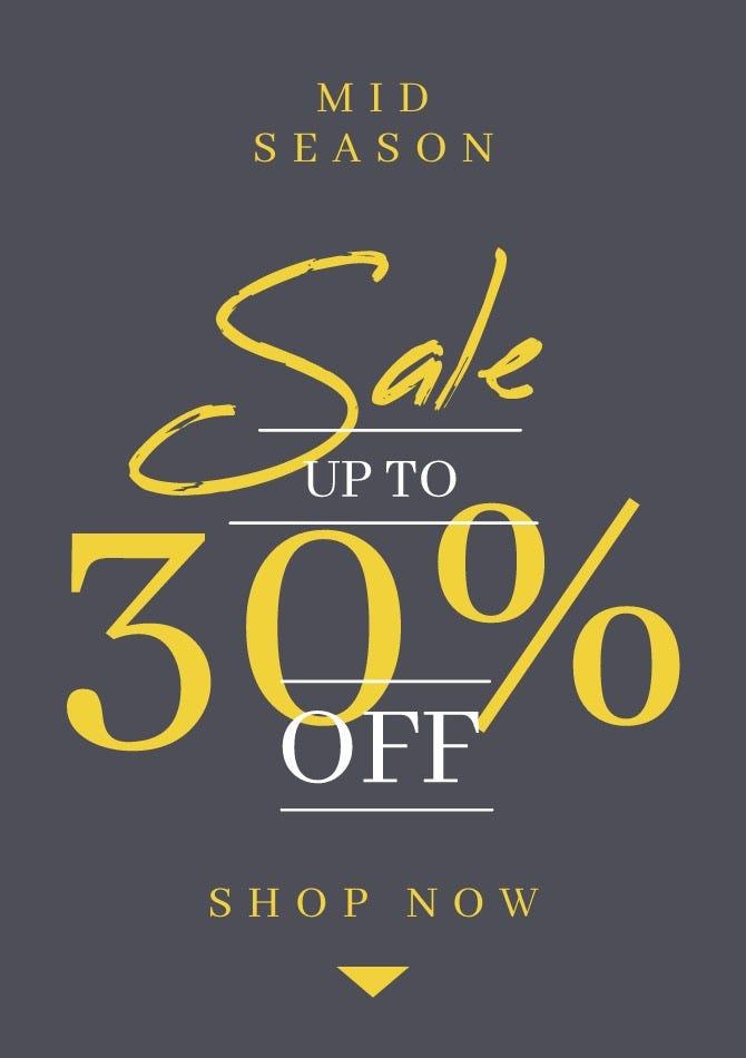 Shop Mid Season Sale