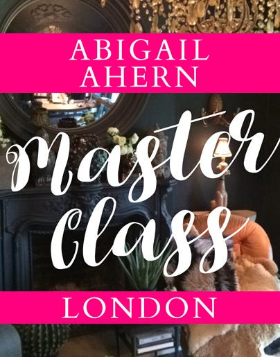 Interior Master-Class with Abigail Ahern