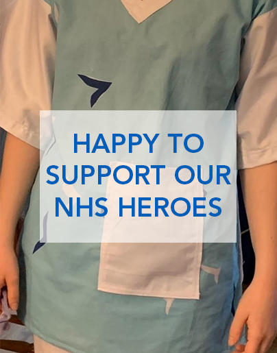Happy to support our NHS heroes