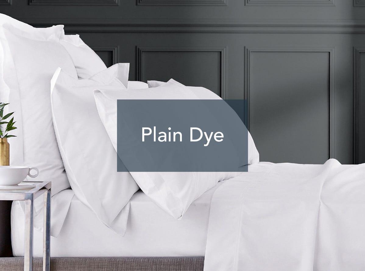 Bedeck of Belfast Fine Linens Plain Dye