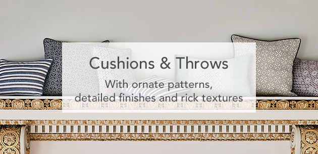 Bedeck of Belfast Cushions & Throws