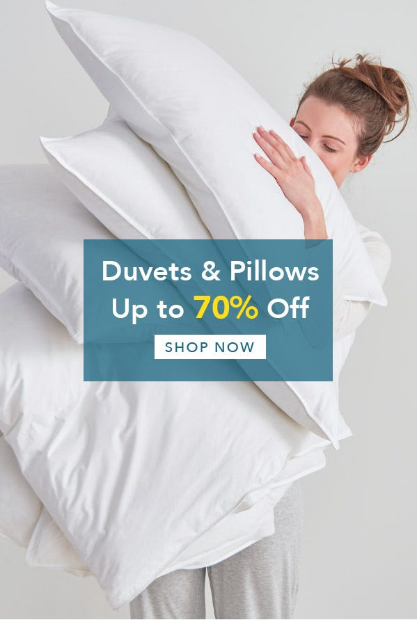 Winter Sale Duvet and Pillows