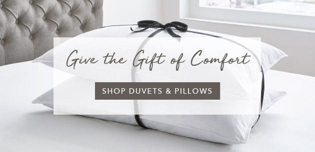 Explore Duvets and Pillows