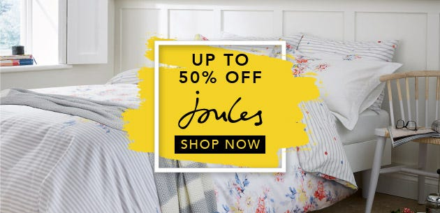 Joules Bedding Black Friday Up To 50% Off
