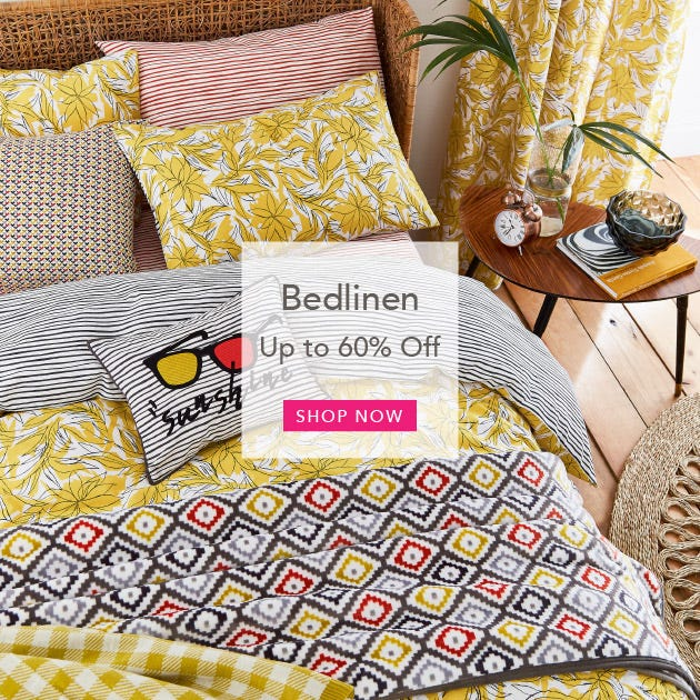 Up To 60% Off Sale Bed linen