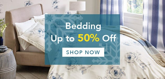 Wiinter Sale Up To 50% Off Bedding