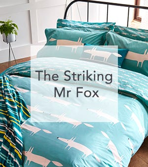 Scion Mr Fox Bedding Clearance