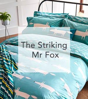 Scion Mr Fox Bedding Clearance