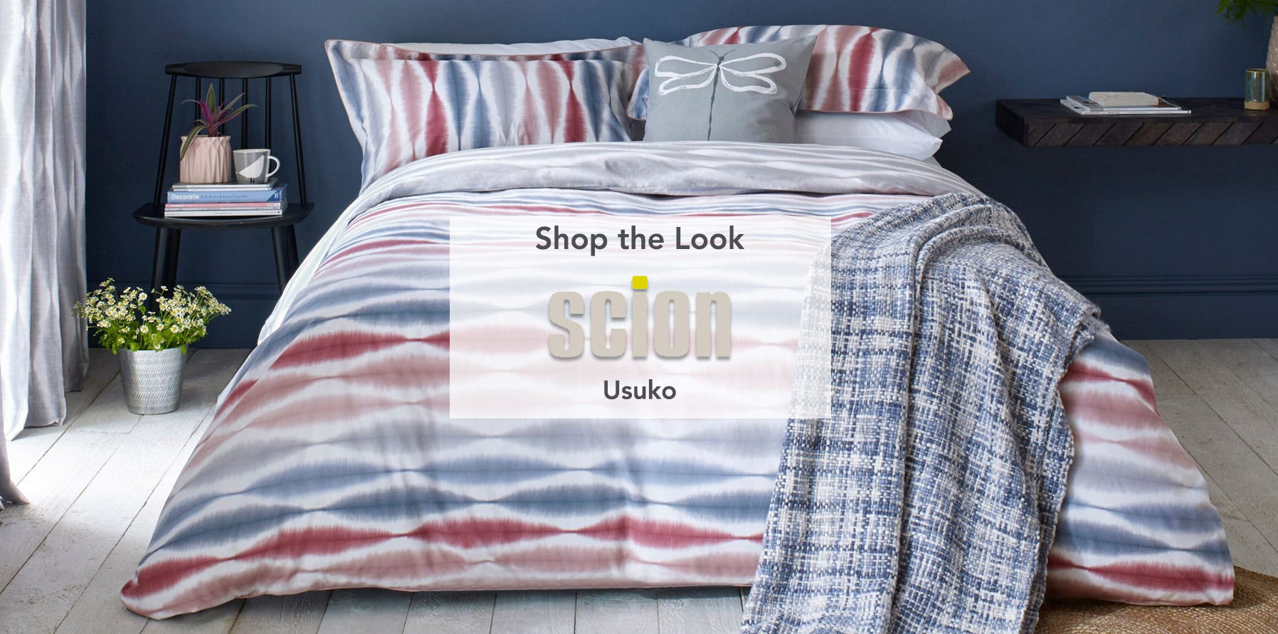 Scion Usuko Bedding Shop the Look