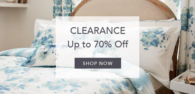 Shop Clearance Bedding