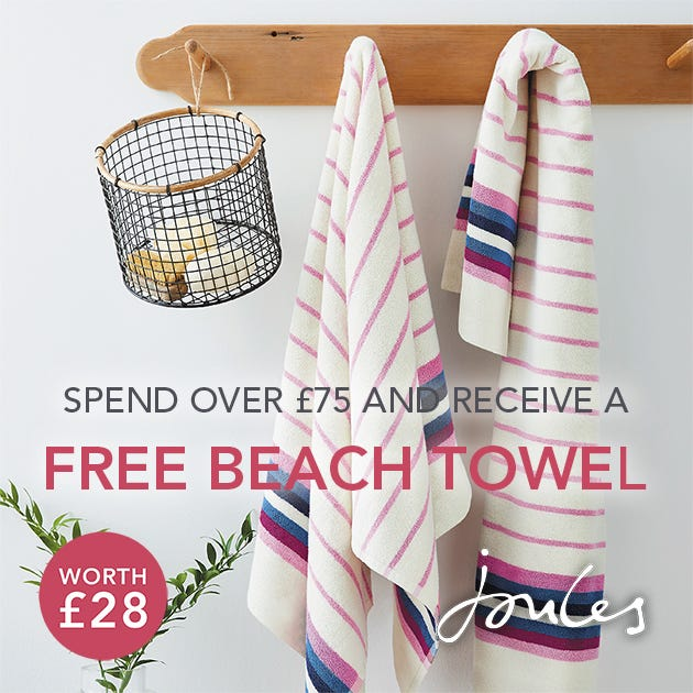 Free Joules Towel