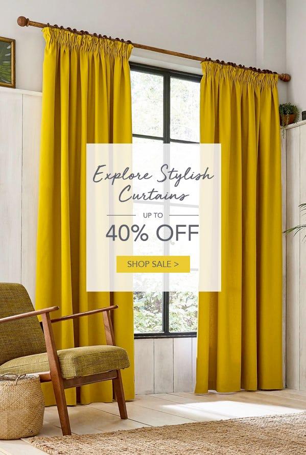 Shop Sale Curtains