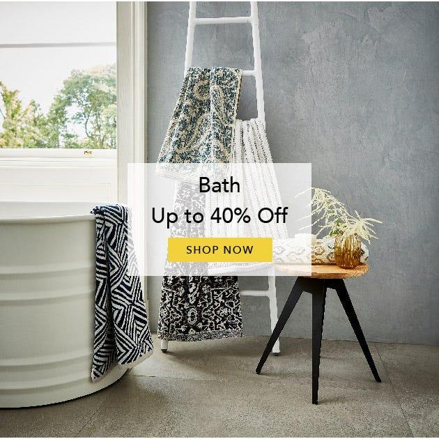 Shop Sale Bath