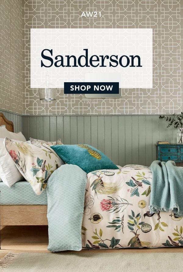 Shop Sanderson Bedding