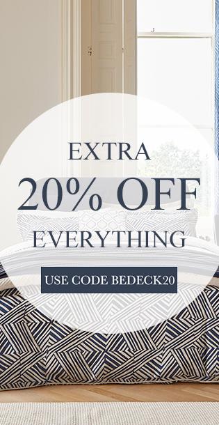 Shop Bedeck Extra 20 Sale