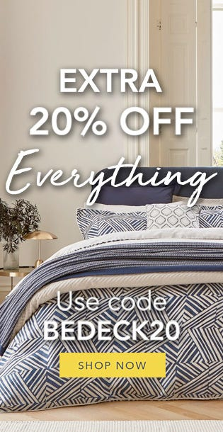 Bedeck Extra 20% Off