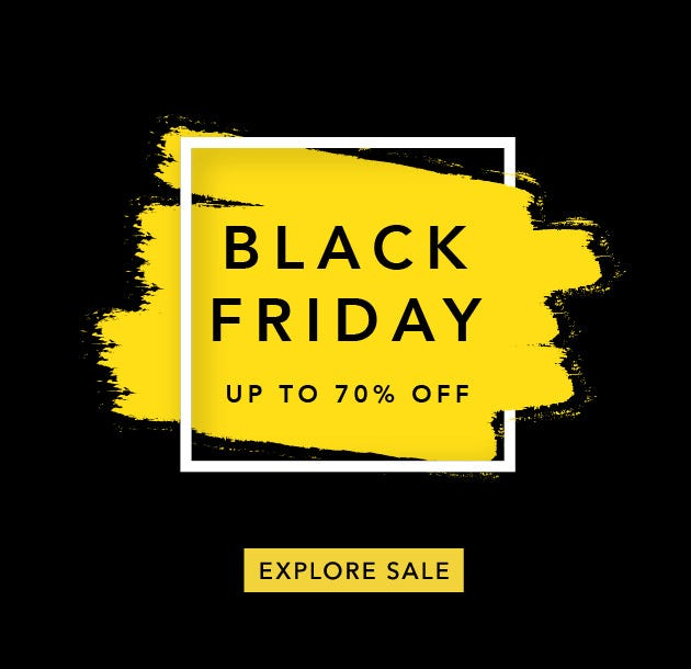 Black Friday Event Up To 70% Off