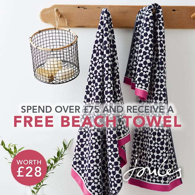 Joules Free Towel