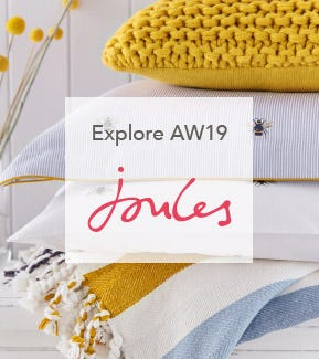 Joules Botanical Bee Cushions