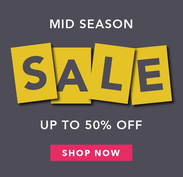 Mid Season Bedding Sale Now On