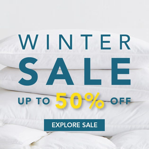 Winter Bedding Sale